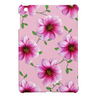 Garden Pink Dahlia Flowers on any Color