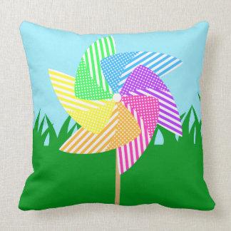 Garden Pinwheel Pillow