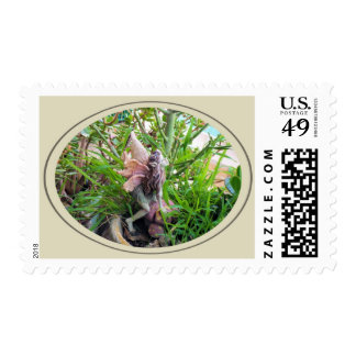 Garden Pixie Postage Stamps