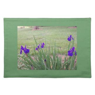 Garden Placemats featuring Siberian Iris