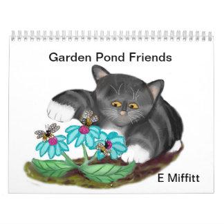 Garden Pond Friends - Custom Printed Calendar