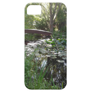 Garden Pond Lilly Pad iphone 5 Case