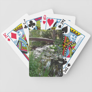 Garden Pond Playing Cards
