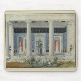 Garden portico, c.1834 mouse pad