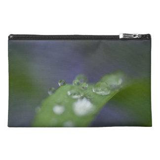 Garden Raindrops Travel Accessory Bag