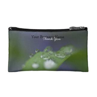 Garden Raindrops Promotional Makeup Bags