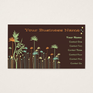 Garden Reminisce Business Cards