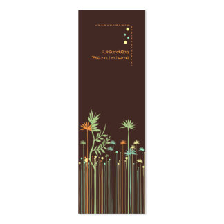 Garden Reminisce Tag Skinny Profile Cards