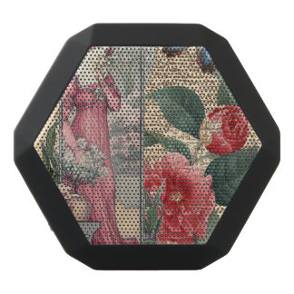 Garden Romance Black Bluetooth Speaker