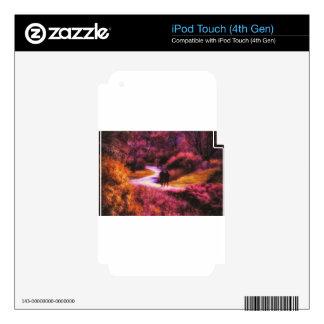 Garden Romance iPod Touch 4G Skin