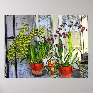 Garden Room Poster