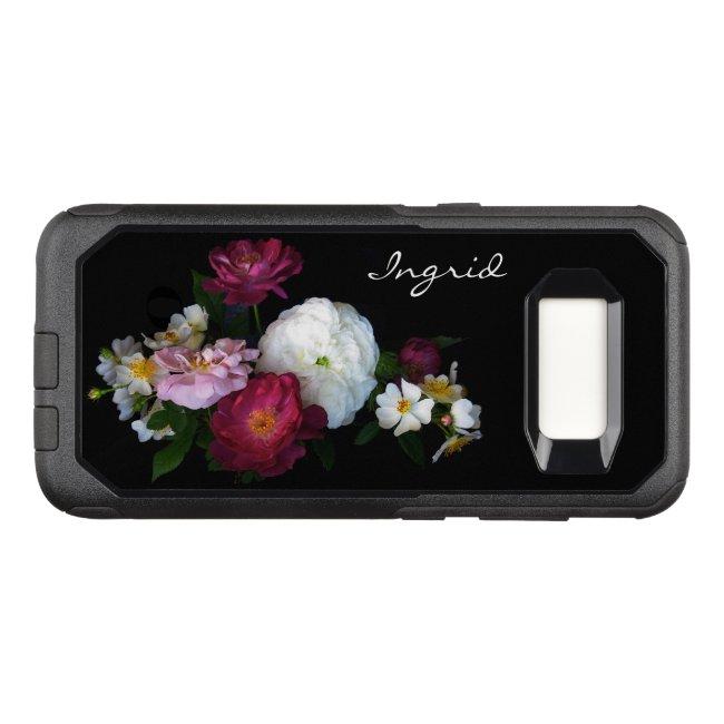Garden Rose Floral OtterBox Samsung Galaxy S8 Case