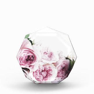 Garden roses acrylic award