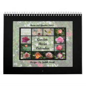 Garden Roses Calendar 1 calendar