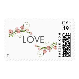 Garden Roses Love Stamp