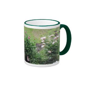 Garden Roses Mug (Green)