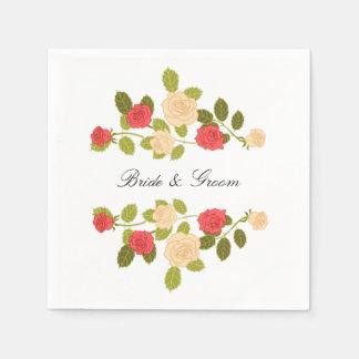 Garden Roses Paper Napkins