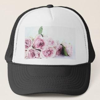 Garden roses trucker hat