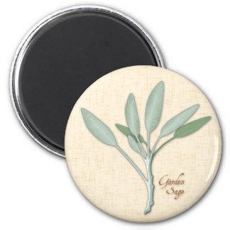 Garden Sage Herb Magnet