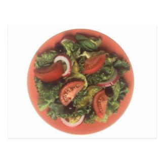 Garden Salad Postcard