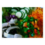 Garden Salad Poster (in many sizes)