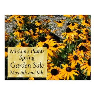 Garden Sale Postcard