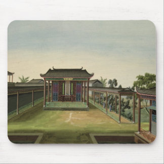 Garden Scene, c.1820-40 (w/c on paper) 2 Mouse Pad