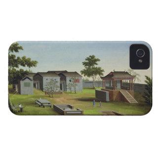 Garden Scene, c.1820-40 (w/c on paper) 3 Case-Mate iPhone 4 Case