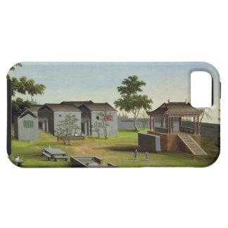 Garden Scene, c.1820-40 (w/c on paper) 3 iPhone SE/5/5s Case