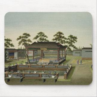 Garden Scene, c.1820-40 (w/c on paper) 4 Mouse Pad