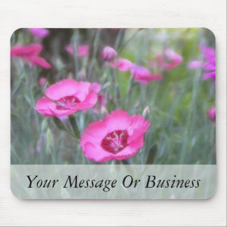 Garden Scenes - Cottage Pinks Mouse Pad