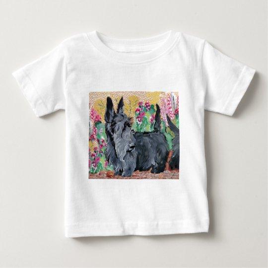 Garden Scotties Baby T-Shirt