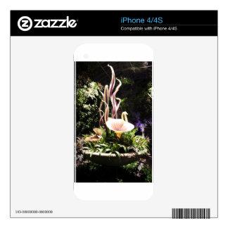 Garden Sculpture Decals For The iPhone 4S
