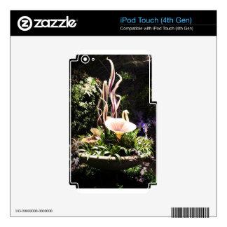 Garden Sculpture iPod Touch 4G Skin