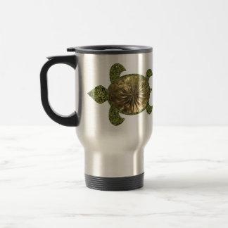 Garden Sea Turtle Travel Mugs