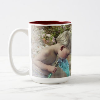 Garden Secret l, huile Two-Tone Coffee Mug