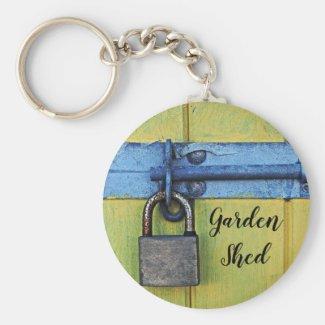 Garden Shed Keychain