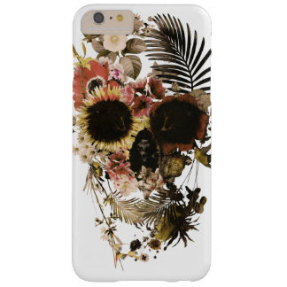 Garden Skull Light Barely There iPhone 6 Plus Case
