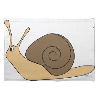 Garden Snail Cloth Placemat