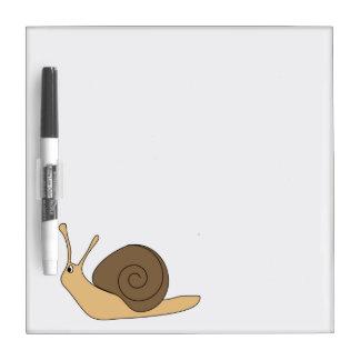 Garden Snail Dry-Erase Board