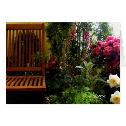 Garden Spot Flowers Card