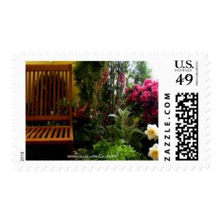 Garden Spot Flowers Postage