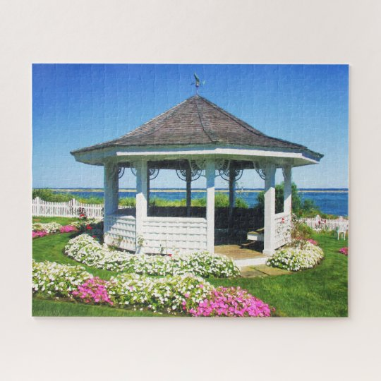 Garden Spring Gazebo In Chatham, Cape Cod MASS Jigsaw Puzzle