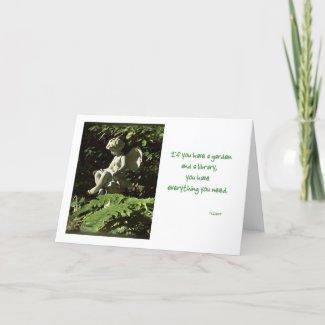 Garden Sprite card card