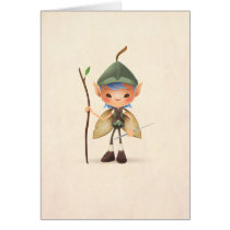 Garden Sprite Greeting Card