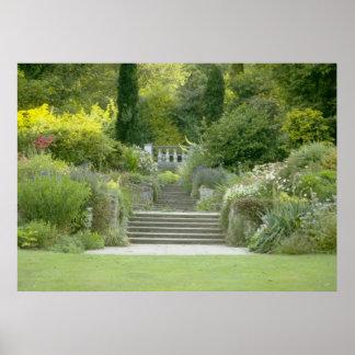 Garden stairs by tasullivan poster