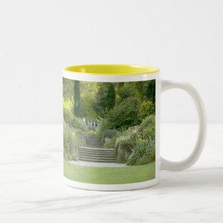 Garden stairs mug by tasullivan