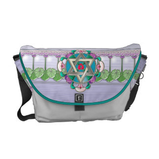 Garden Star  (Personalized) Courier Bags