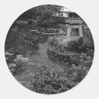 Garden Round Sticker