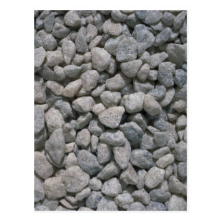 Garden stones texture postcard
